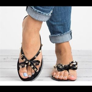 Jelly Studded Sandals